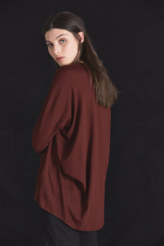 Building Block Drape Back Top