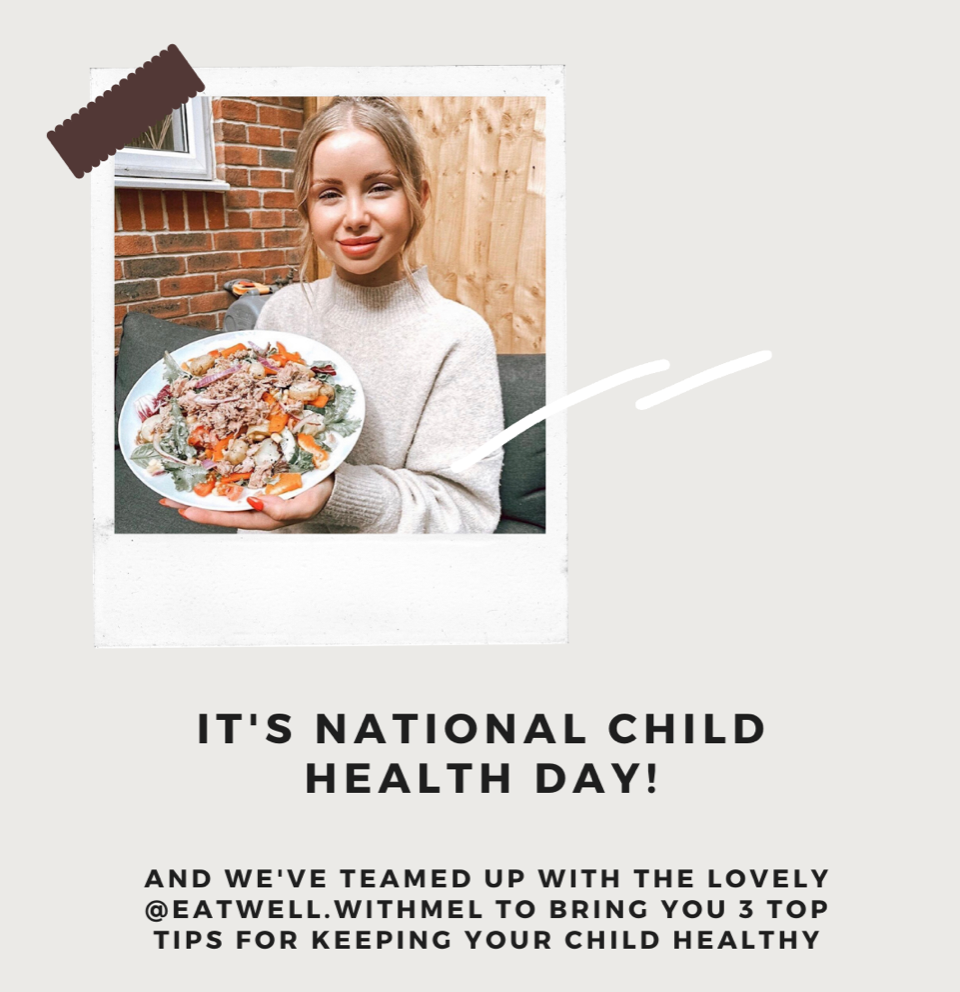 National Child Health Day- eatwell.withmel