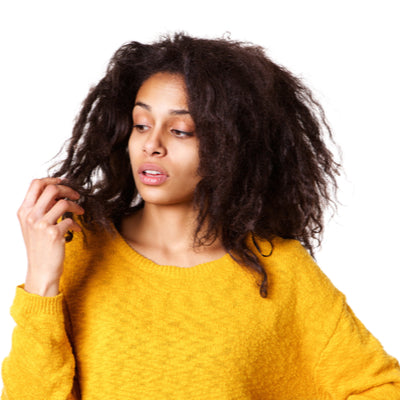 CUSH Cosmetics: How To Correct Dry Hair Caused By High Porosity