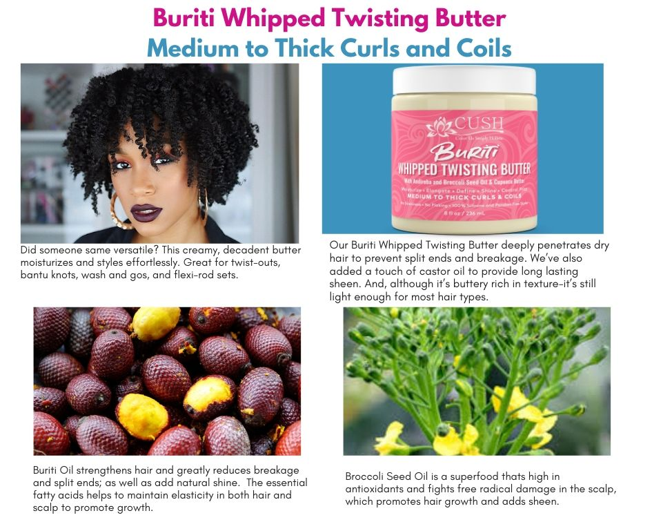 BURITI WHIPPED TWISTING HAIR BUTTER