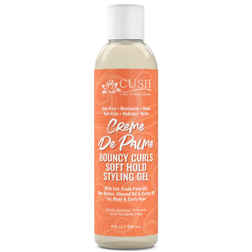Creme De Palme Soft Hold Bouncy Curls Styling Gel