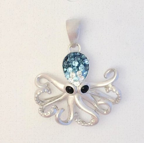 Octopus Pendant Presco  Swarovski® Crystal Elements (115109)