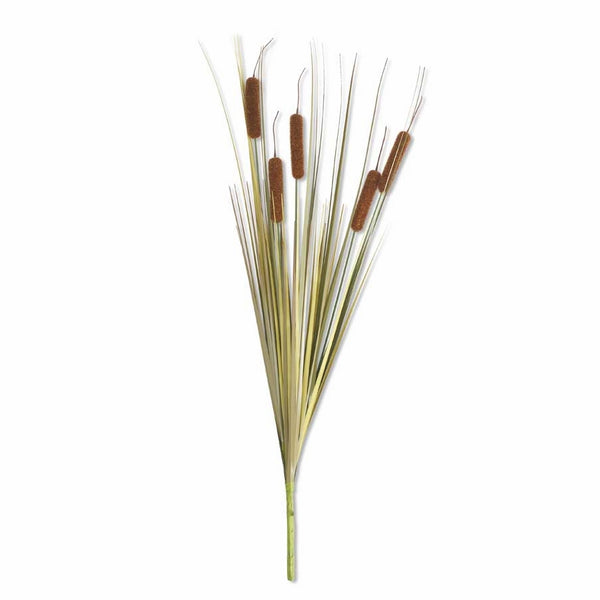 "25""H  5-Head Cattail Stem in Dark Brown or Light Brown"