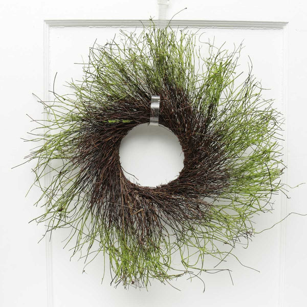 "22"" Twig and Moss Wreath Base"
