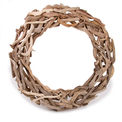 Driftwood Wreath - Natural - 18 inches
