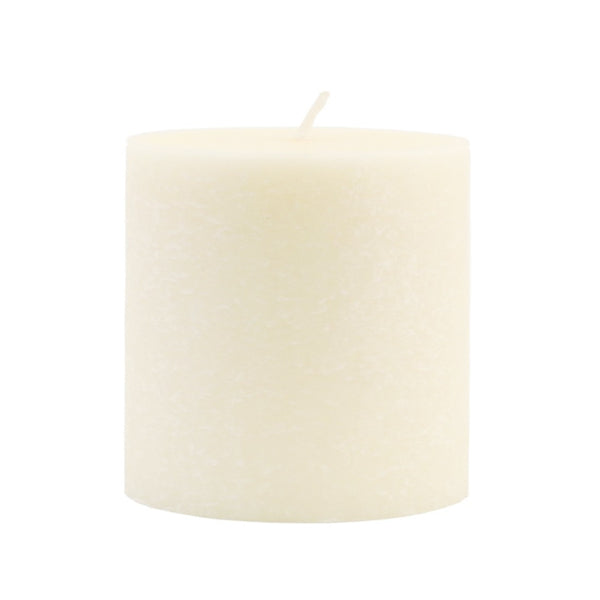 Root Timberline Pillar Candle -  3 X 3 Ivory - Root Candles Made in America