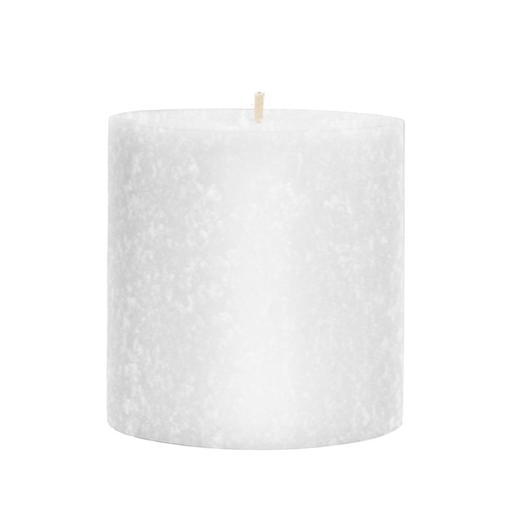 Root Timberline Pillar Candle -  3 X 3 White - Root Candles Made in America