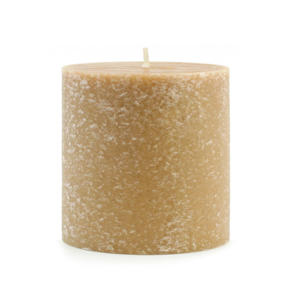 Root Timberline Pillar Candle -  3 X 3 Beeswax - Root Candles Made in America