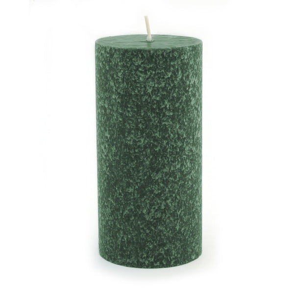 Root Timberline Pillar Candle -  3 X 6  Dark Green - Root Candles Made in America
