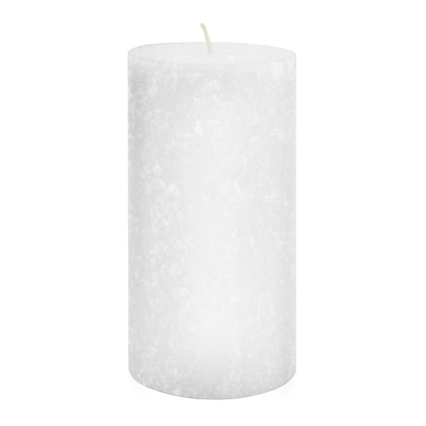 Root Timberline Pillar Candle -  3 X 6 White - Root Candles Made in America