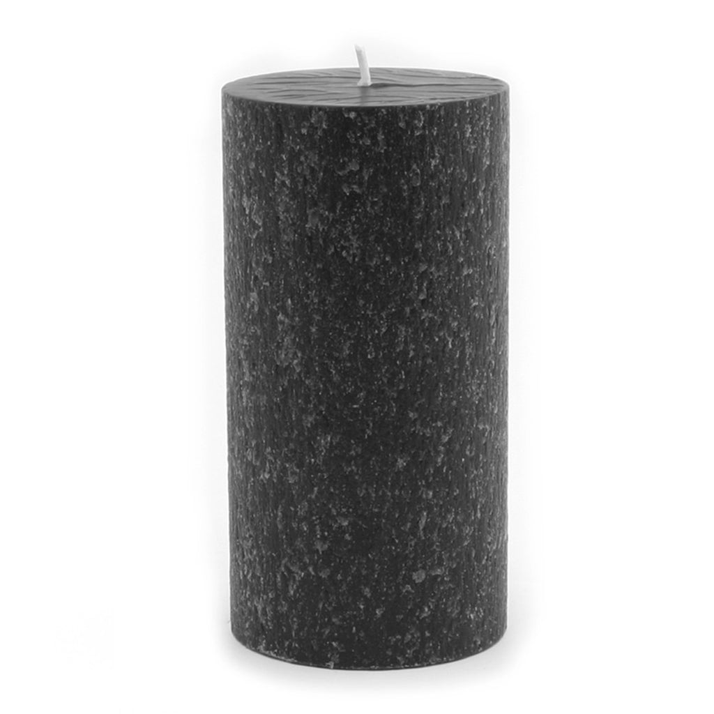 Root Timberline Pillar Candle -  3 X 6 Black - Root Candles Made in America