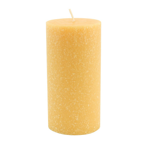 Root Timberline Pillar Candle -  3 X 6 Tangerine Lemongrass - Root Candles Made in America