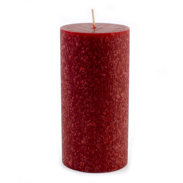 Root Timberline Pillar Candle -  3 X 6 Garnet - Root Candles Made in America