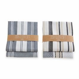 Your Choice, Set of Two, Absorbent Cotton Dish Cloths Arrive Folded and Tied with Kraft Band.