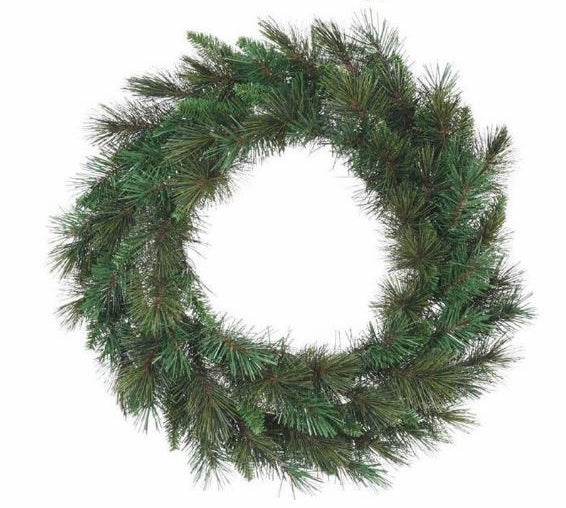 "24""D Anchorage Fir Wreath Base"