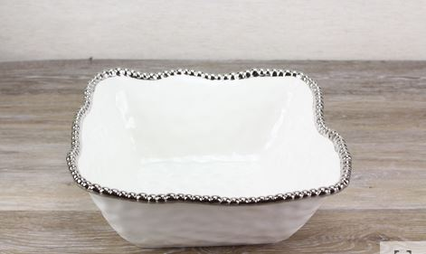 Pampa Bay Medium Square Salad Bowl