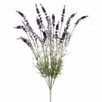 "22"" English Lavender Bush in Purple and Sage Green, Permanent Botanical"