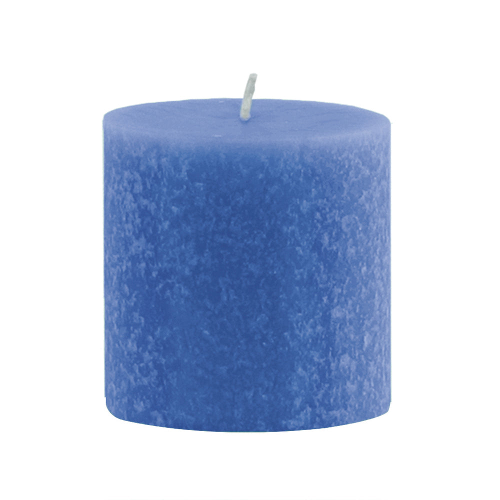 Root Timberline Pillar Candle -  3 X 3  Marine - Root Candles Made in America