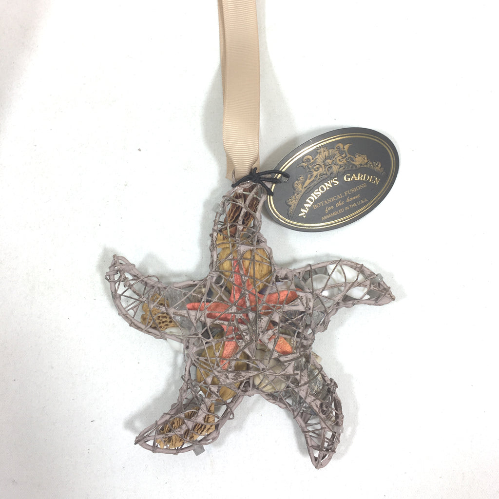 "Your Choice - 5"" Metal Starfish Filled with Potpourri and Hints of the Beach"