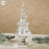 "Reserve Your Quantities Now -   Sparkle Tree, 14"" High, Acrylic, LED, Glitter Filled Tabletop Accent"