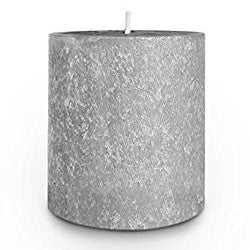 Root Timberline Pillar Candle -  3 X 3  Platinum - Root Candles Made in America