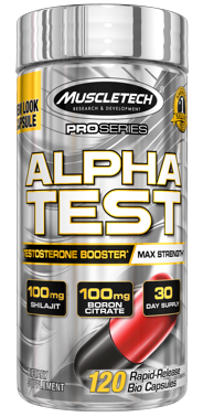 Muscletech Proseries Alpha Test 120 CAPS