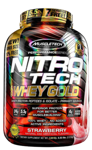 Muscletech Nitro Tech 100% Whey Gold 2.51 Kg