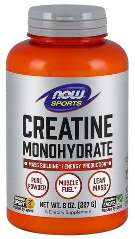 Creatine Monohydrate, Pure Powder - 227 grams