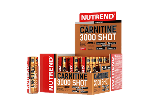 NUTREND CARNITINA 3000 SHOT 20 X 60 ML