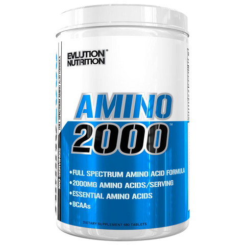 Evlution Nutrition Amino 2000 - 480 tablets
