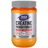 NOW FOODS Creatine Monohydrate, Pure Powder - 600 grams