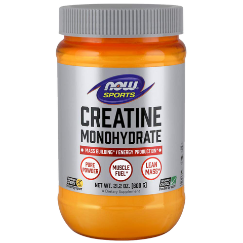 Creatine Monohydrate, Pure Powder - 600 grams