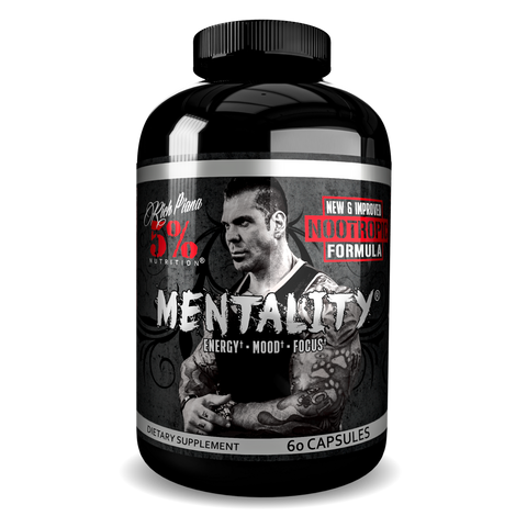RICH PIANA 5% Mentality Nootropic Blend 60 CAPS