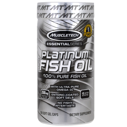 Platinum Fish Oil 100 SOFTGELS