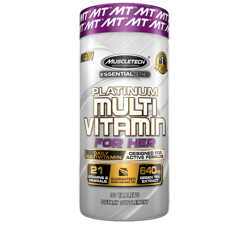 Muscletech Platinum Multi Vitamin For Her 90 TABS