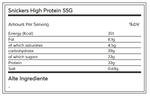 Snickers High Protein 55G