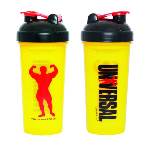 UNIVERSAL Yellow Shaker Cup