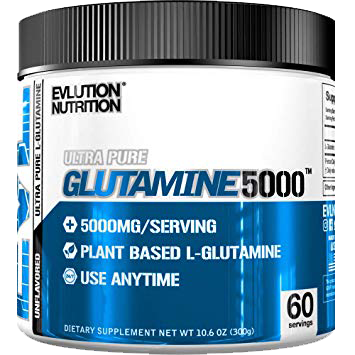 Evlution Nutrition Glutamine 5000 60 SERVINGS