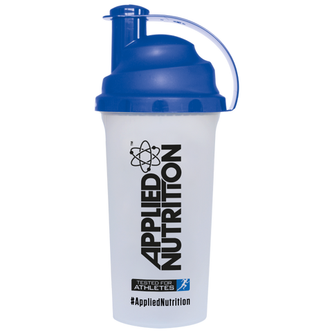 Applied Nutrition Shaker, Clear & Blue - 700 ml