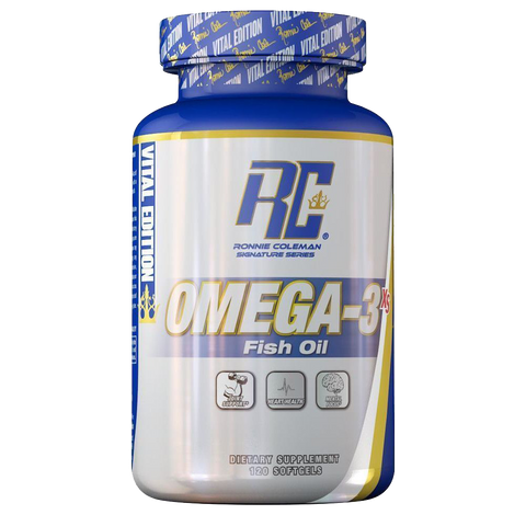 RONNIE COLEMAN omega-3 120 softgels