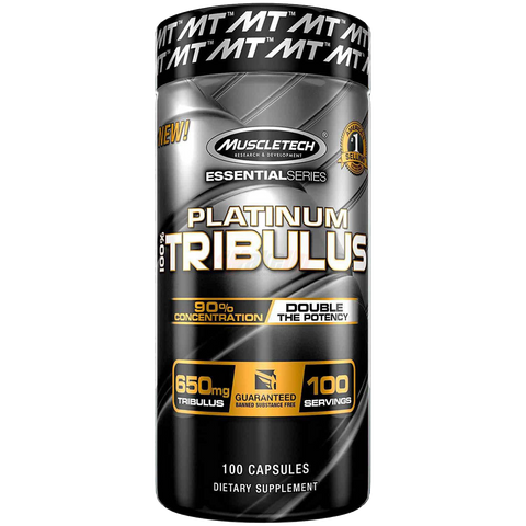 Muscletech Platinum Tribulus 100 CAPS
