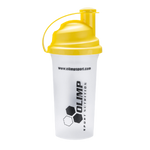 Olimp Shaker, Clear with Yellow Lid - 700 ml.