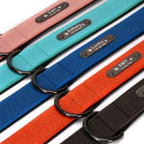 Personalized Leather Dog Collar - Get Your Pets Name Engraved on the Collar
