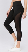 Load image into Gallery viewer, Don't Mesh with Me Workout Leggings