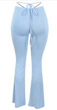 Load image into Gallery viewer, Flirty Flair Leggings (Baby Blue)