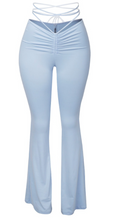 Load image into Gallery viewer, Tie Me Up Leggings (Baby Blue)