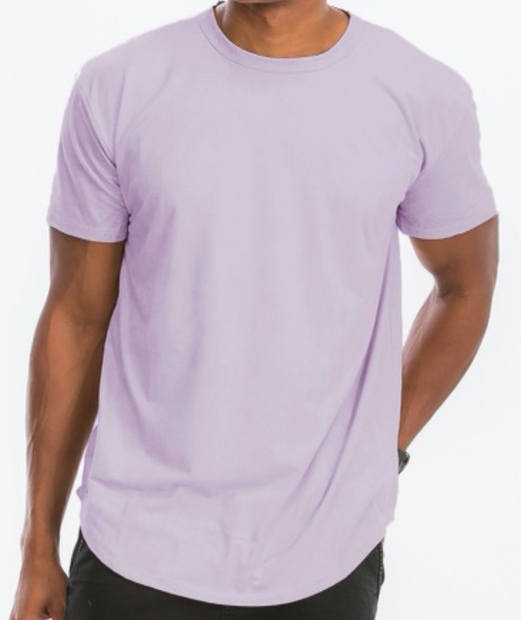 Back to Basics Tee (Light Lavender)