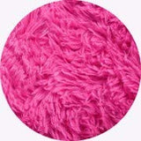 PAGISOFE Fluffy Bedroom Area Rugs 4' x 5.3' Shaggy Rug for Girls Baby Room Living Room Nursery Christmas Home Decor Floor Carpet, Pink