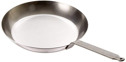 "Matfer Bourgeat 062006 Black Steel 12-5/8"" Frying Pan"
