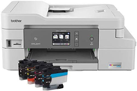Brother MFC-J995DW INKvestmentTank Color Inkjet All-in-One Printer with Mobile Device and Duplex Printing, Up To 1-Year of Ink In-box